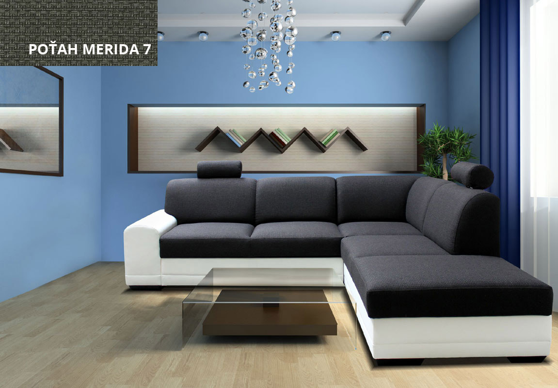 Rohová sedačka LEON II, Merida 7-Madryt 120