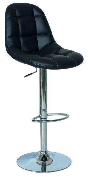 Barová stolička C-198 čierna