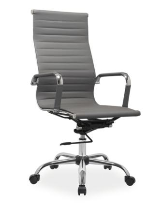 Kancelárske kreslo Q-040 sivé