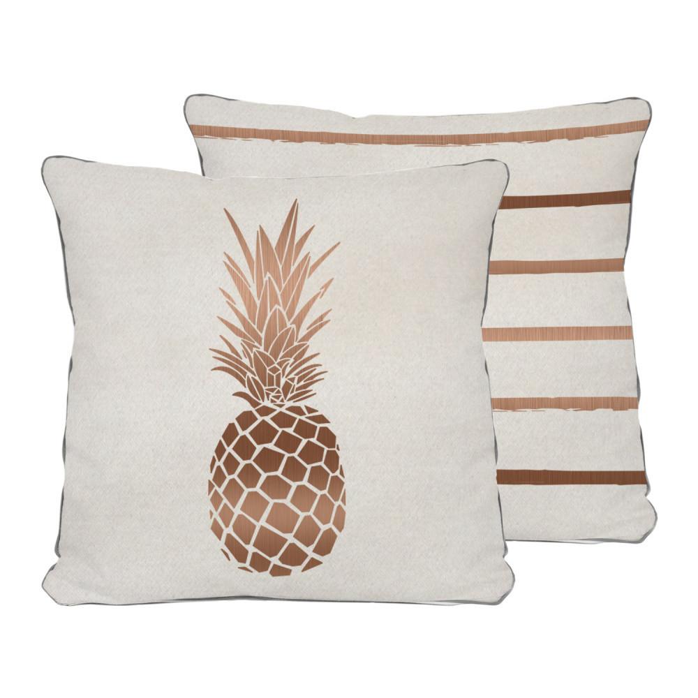 Obojstranný vankúš Really Nice Things Pineapple, 45x45cm