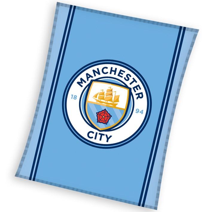 Carbotex detská deka Manchester City 110x140