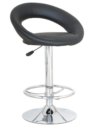 Barová stolička CB-300 čierna