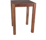 Furniture nábytok  Masívny jedálenský barový stôl z Palisanderu  Ebráhím  75x75x110 cm