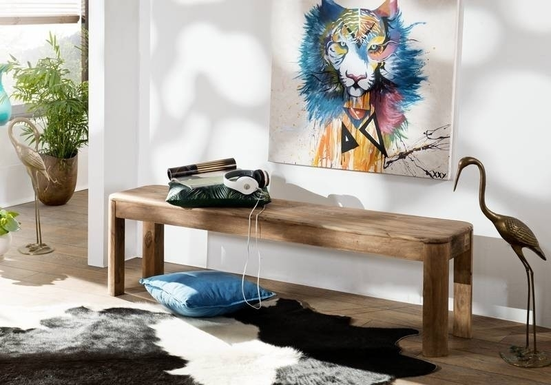 TORONTO #127 Lavica 160x35 cm, indický palisander