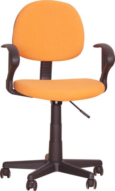 Kancelárska stolička, oranžová, TC3-227