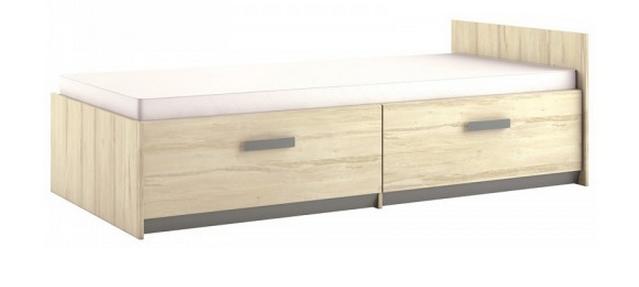 Detská posteľ BEST 17 / breza   Farba: breza / sivá