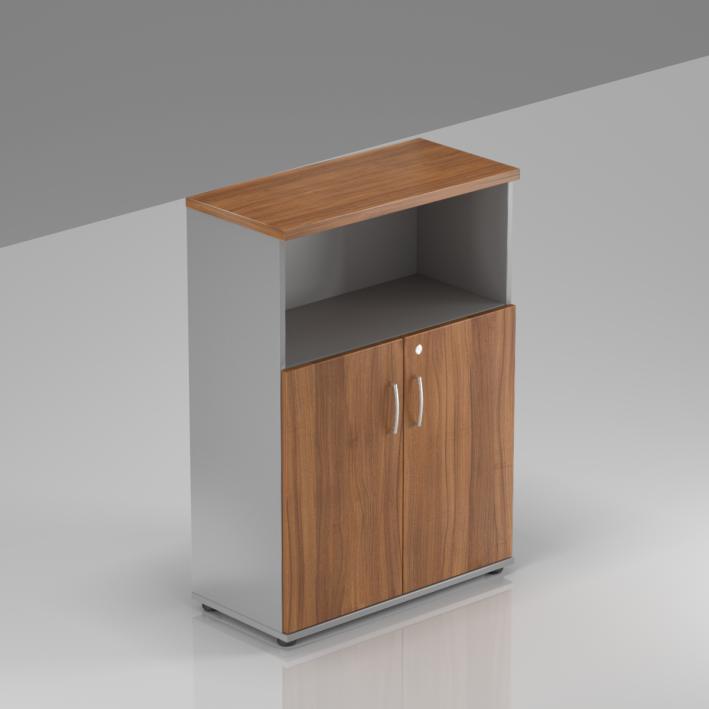 Rauman Kancelárska skriňa Visio, 80x38,5x113 cm, dvere 2/3 S382 19