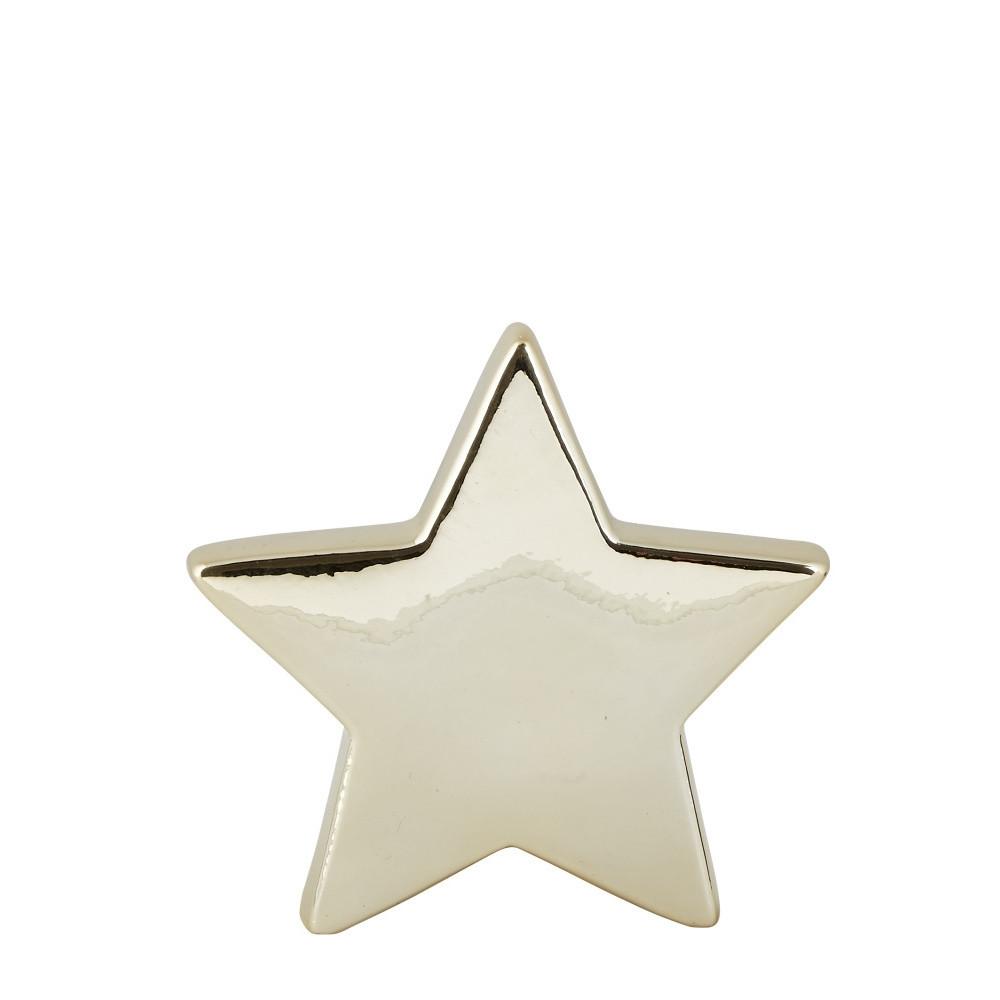 Dekoratívna soška KJ Collection Ceramic Star, 14 cm