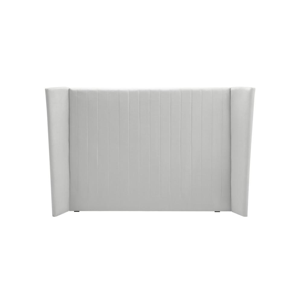 Čelo postele v striebornej farbe Cosmopolitan design Vegas, 160×120 cm