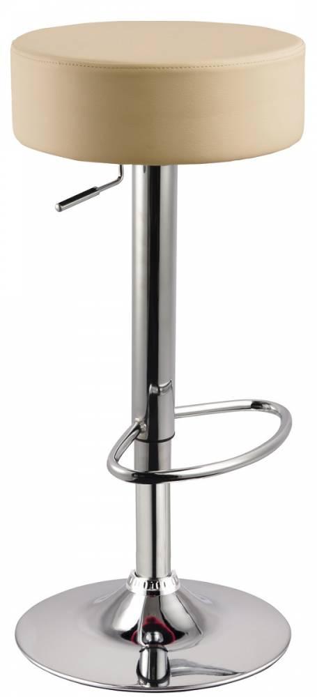 Barová stolička AB-042, krémová