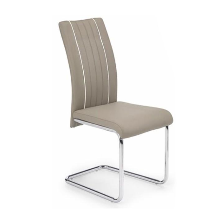 Jedálenská stolička Lesana (béžová + biela)