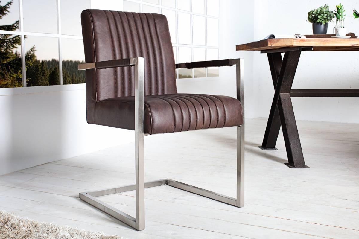 Jedálenská stolička BIG ASTOR - kávová