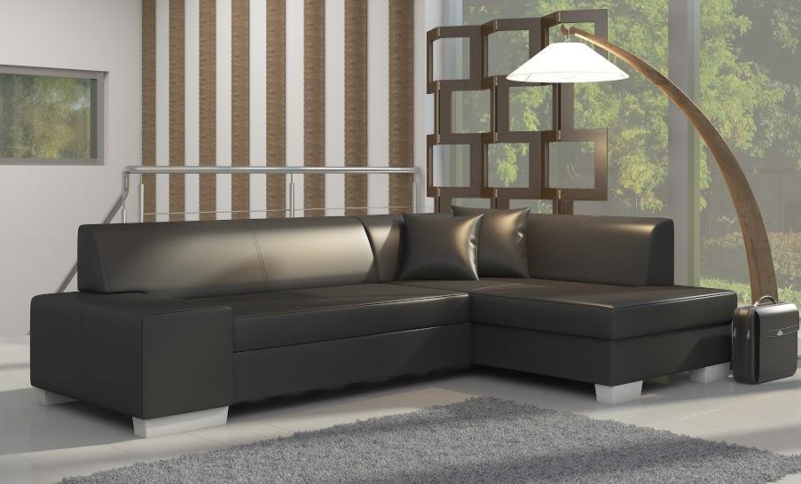 Rozkladacia rohová sedačka FABIANA Soft 11
