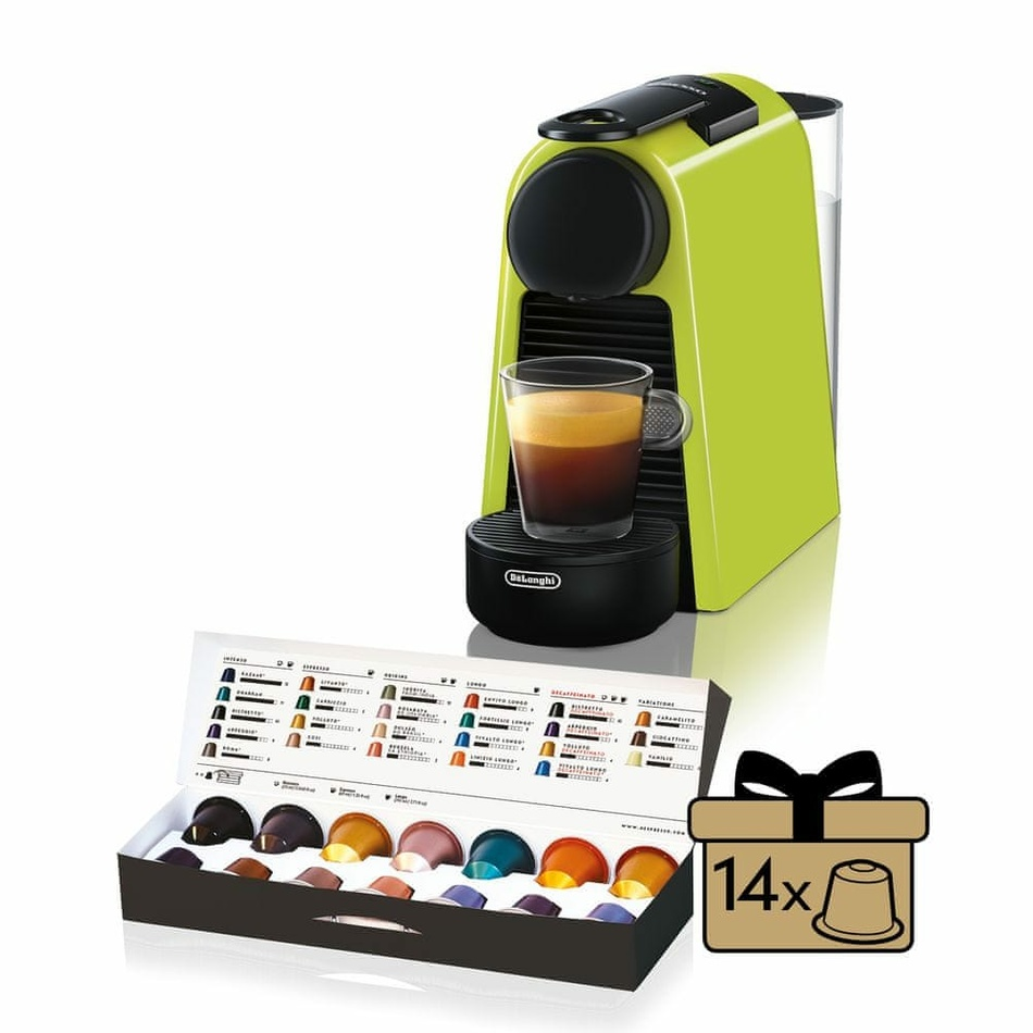 DeLonghi EN85.L Nespresso Essenza Mini Lime
