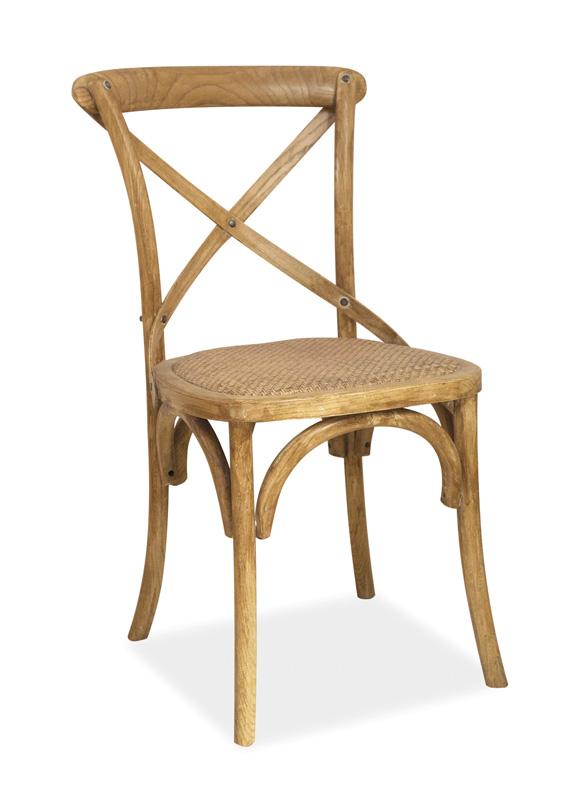 LAROS jedálenská stolička, buk