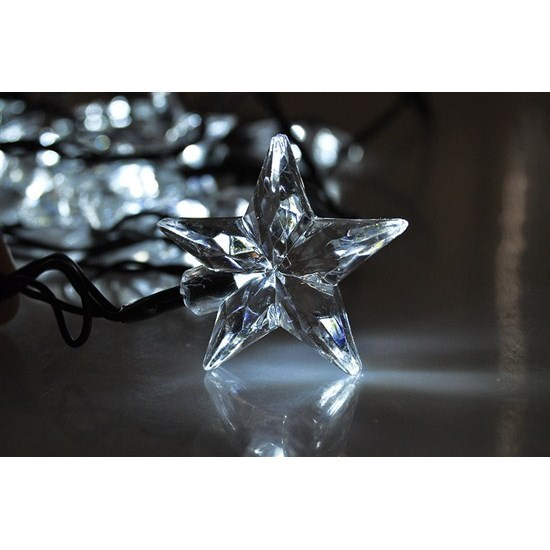 Solight Hviezdy 20 LED biela, 3m