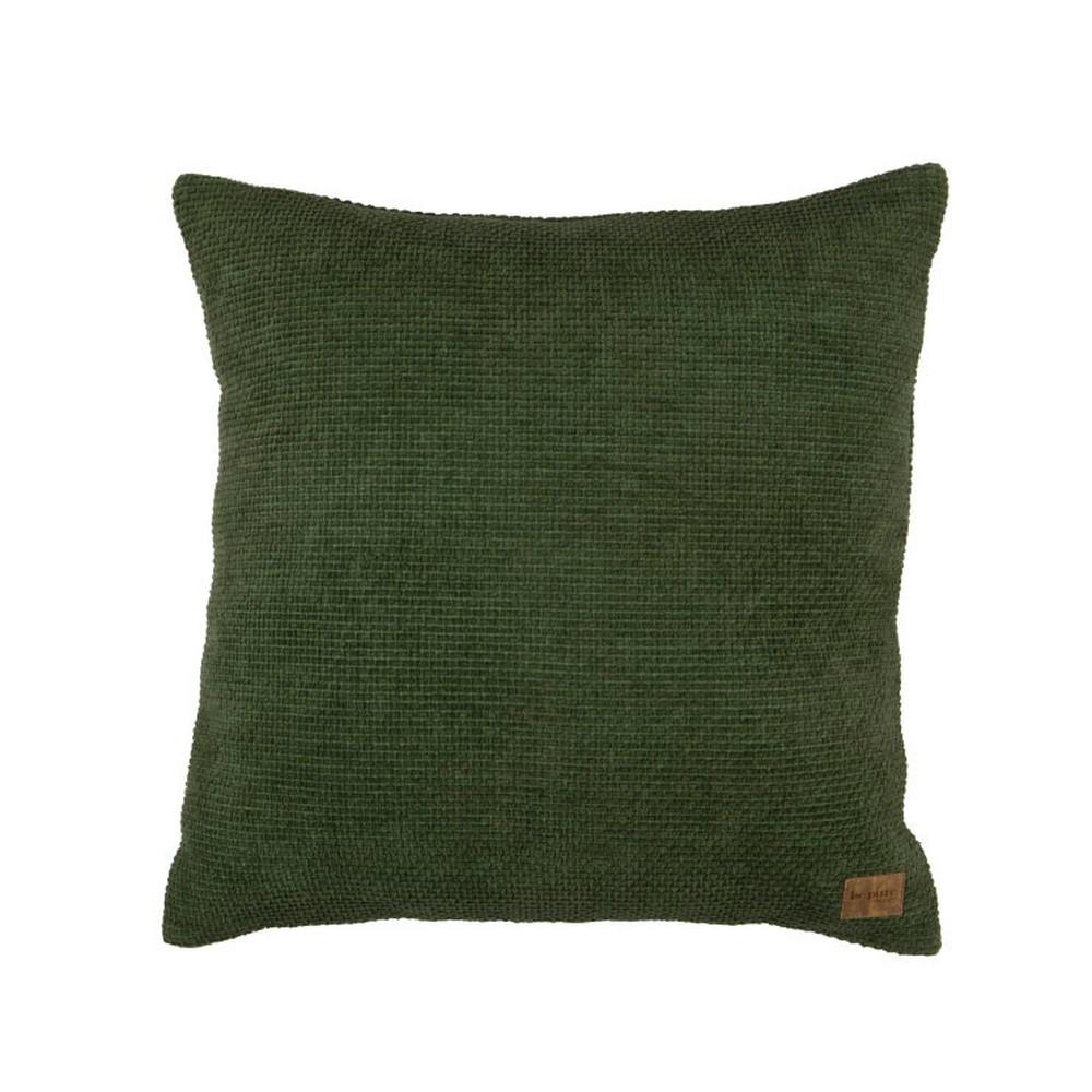 Zelený bavlnený vankúš De Eekhoorn Craddle, 45×45cm