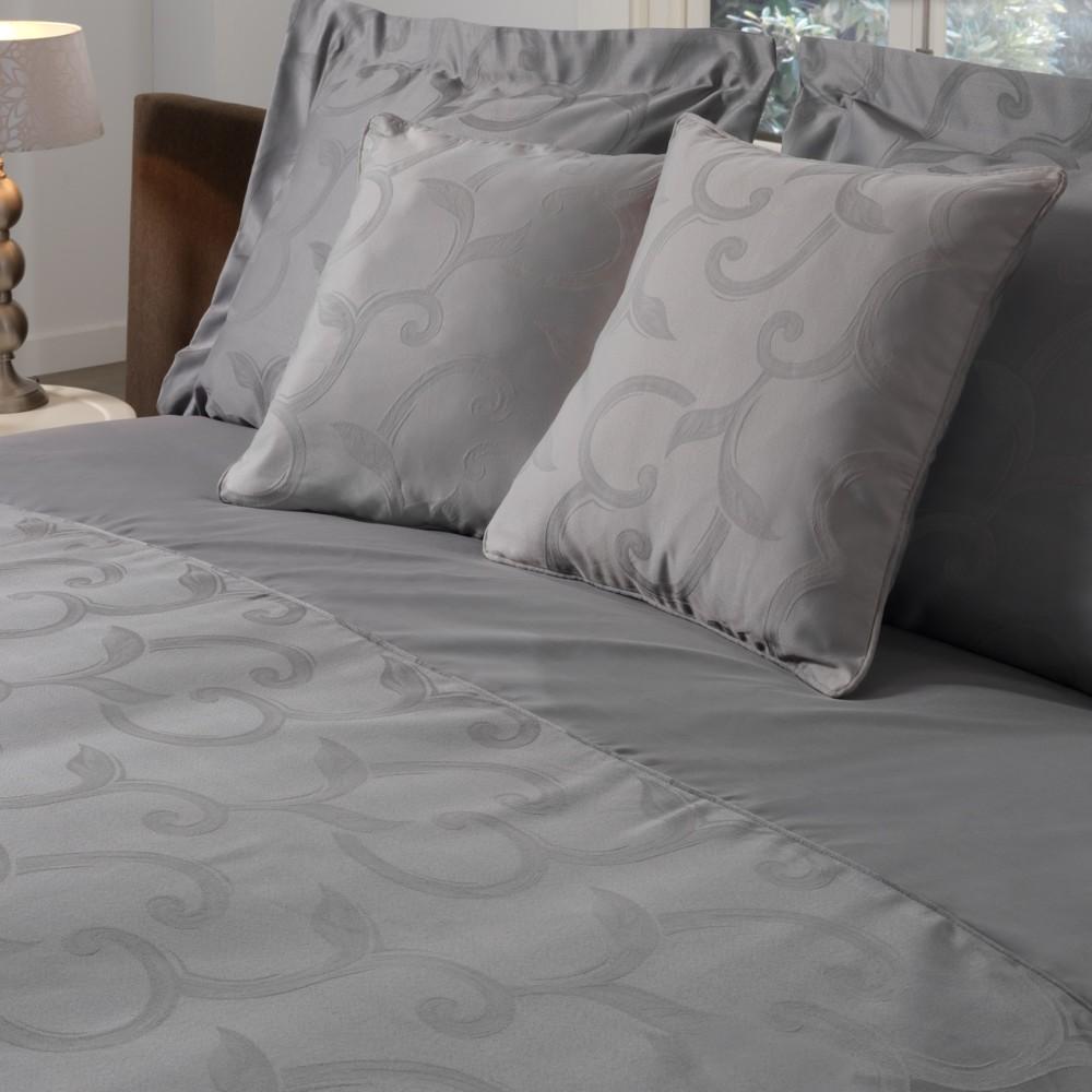 Obliečky Muller Textiel Curls Gris, 200x200cm