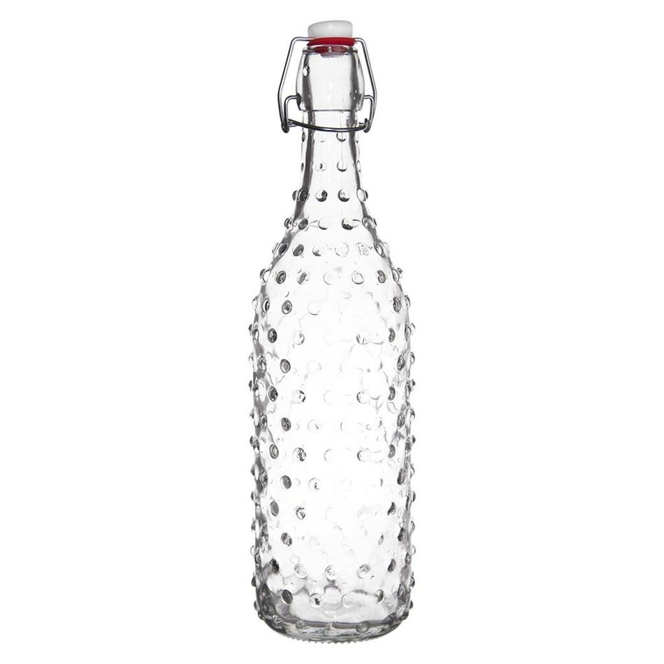 Orion Fľaša sklo CLIP uzáver 1 l IDA