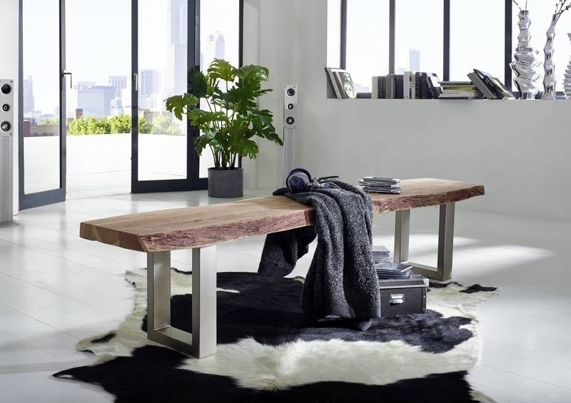 FREEFORM lavica #136 235x38 agátový nábytok