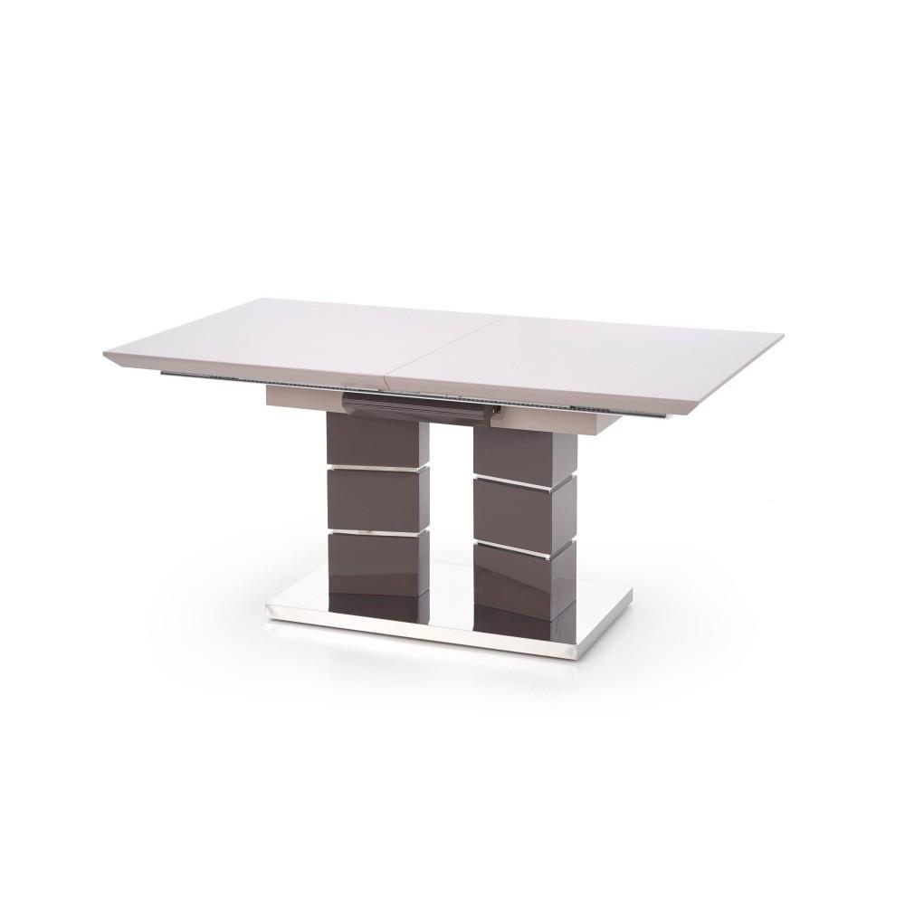 Sivý rozkladací jedálenský stôl Halmar Lord, dĺžka 160 - 200 cm