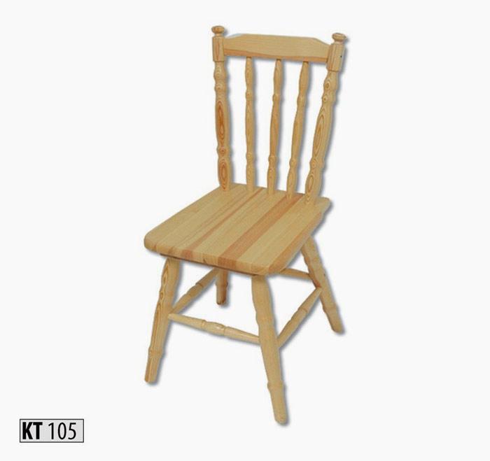 KT105 Jedálenská stolička
