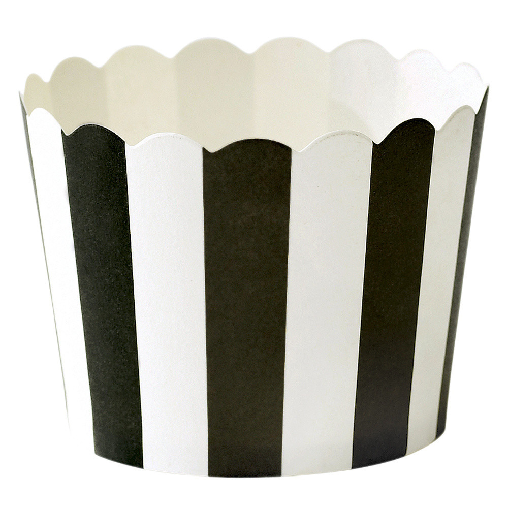 Sada 24 papierových košíčkov na pečenie Miss Étoile Stripe