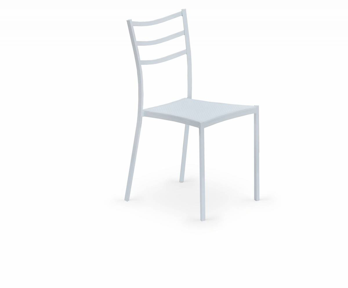 Jedálenská stolička K 159 biela