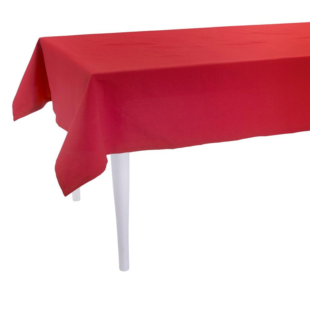Červený obrus Apolena Plain Red, 170×300cm