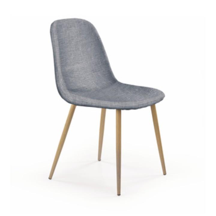 Stolička, svetlosivá + dub sonoma, LEGA