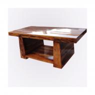 Furniture nábytok  Masívny konferenčný stolík  z Palisanderu  Pál  115x60x45 cm