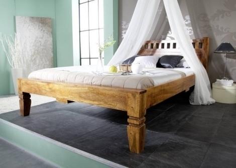 OXFORD HONIG #223 Koloniálna posteľd 180x200, masívne agátové drevo