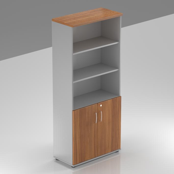 Rauman Kancelárska skriňa Visio, 80x38,5x183,5 cm, dvere 2/5 S582 19