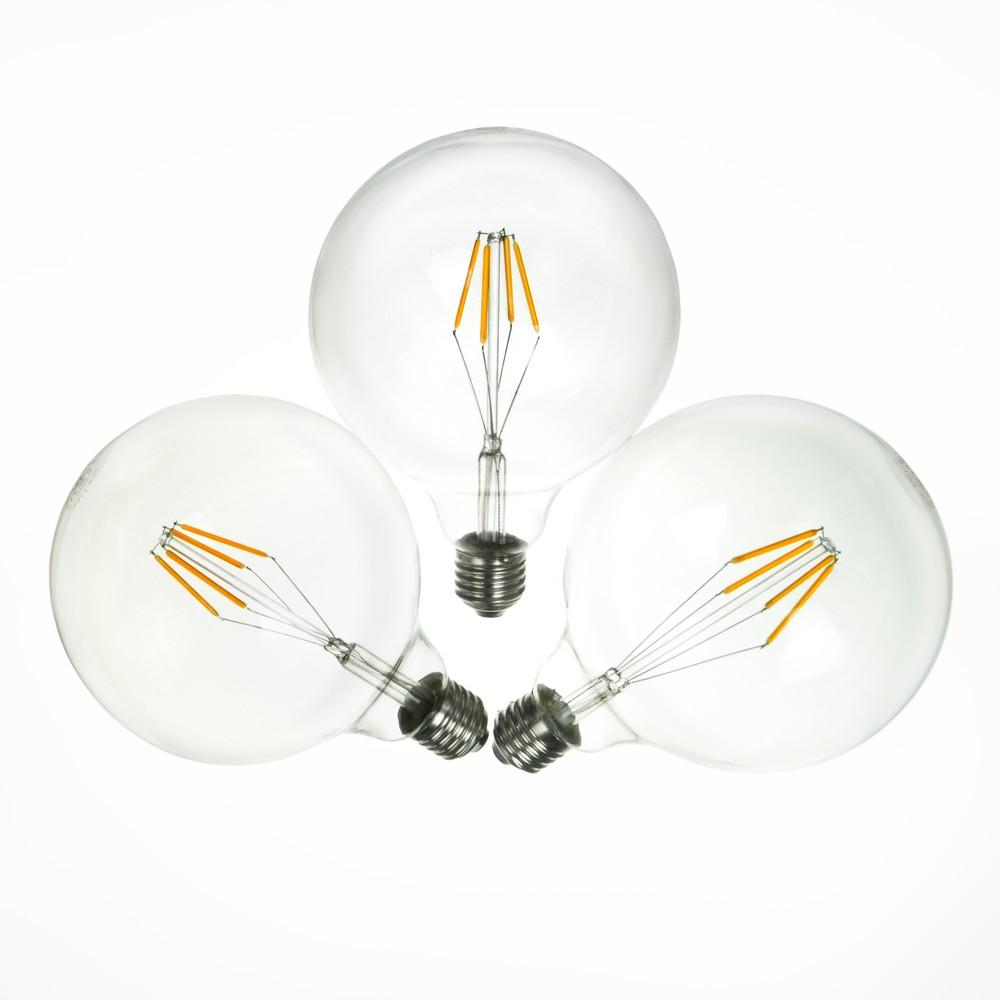 Sada 3 LED žiaroviek Bulb Attack MOOD Crown, 4 W