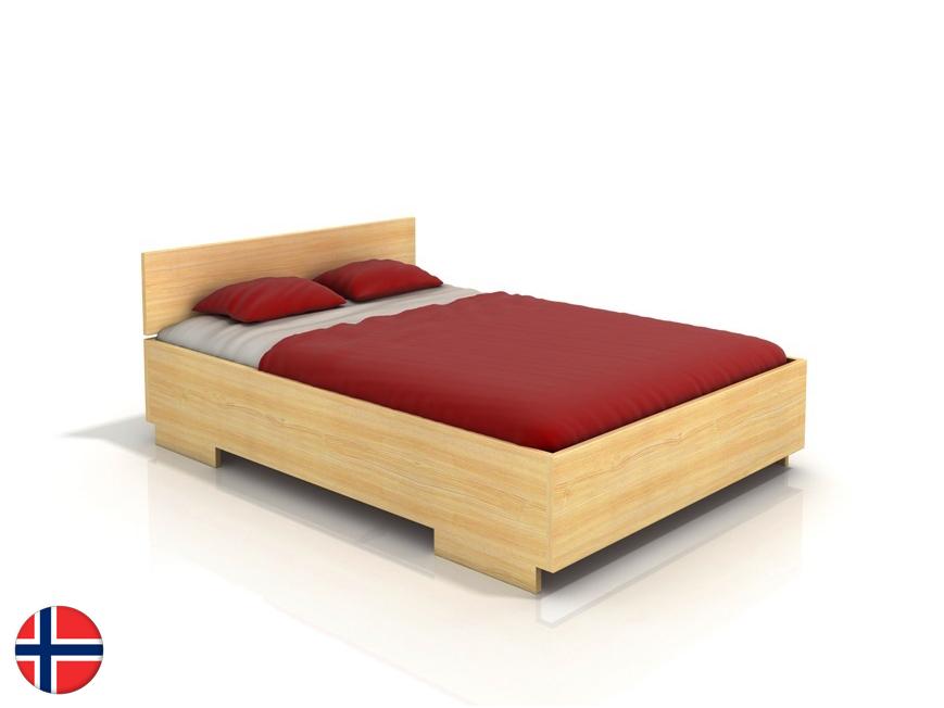 Manželská posteľ 180 cm Naturlig Larsos High (borovica) (s roštom)