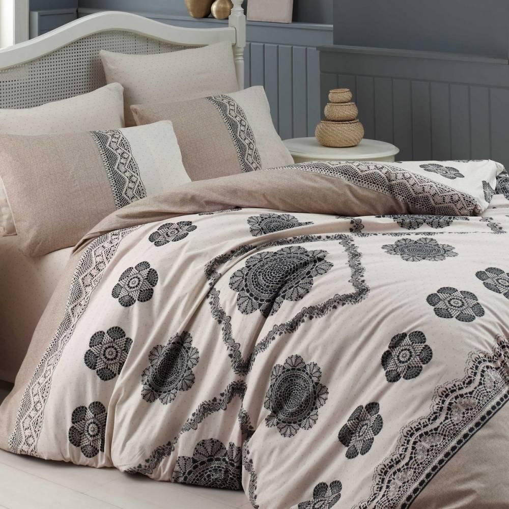 Homeville Bavlnené obliečky Cotton lace, 220 x 200 cm, 2x 70 x 90 cm, 2x 50 x 70 cm, 220 x 200 cm, 2 ks 70 x 90 cm
