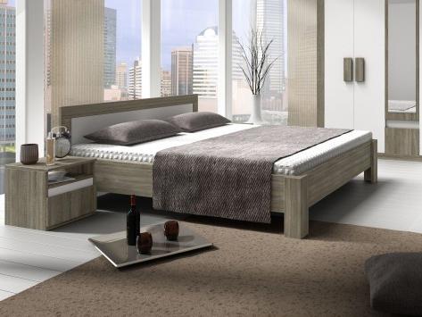 Manželská posteľ 160 cm Mediolan