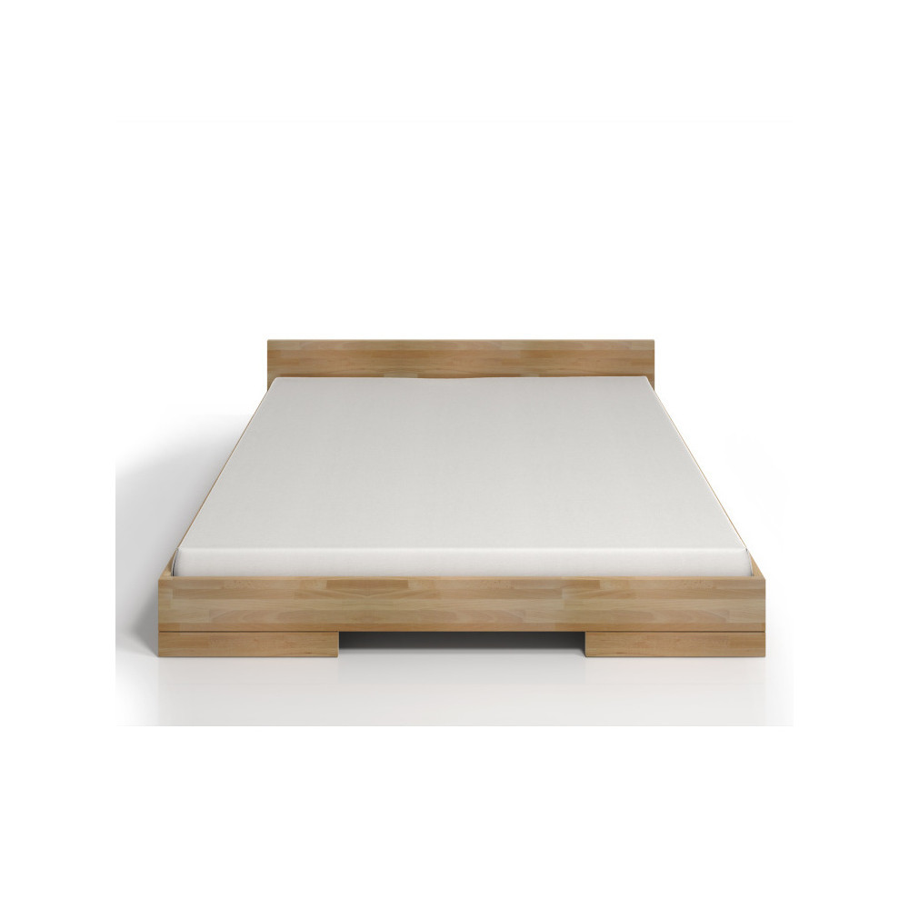 Dvojlôžková posteľ z bukového dreva SKANDICA Spectrum, 140x200cm