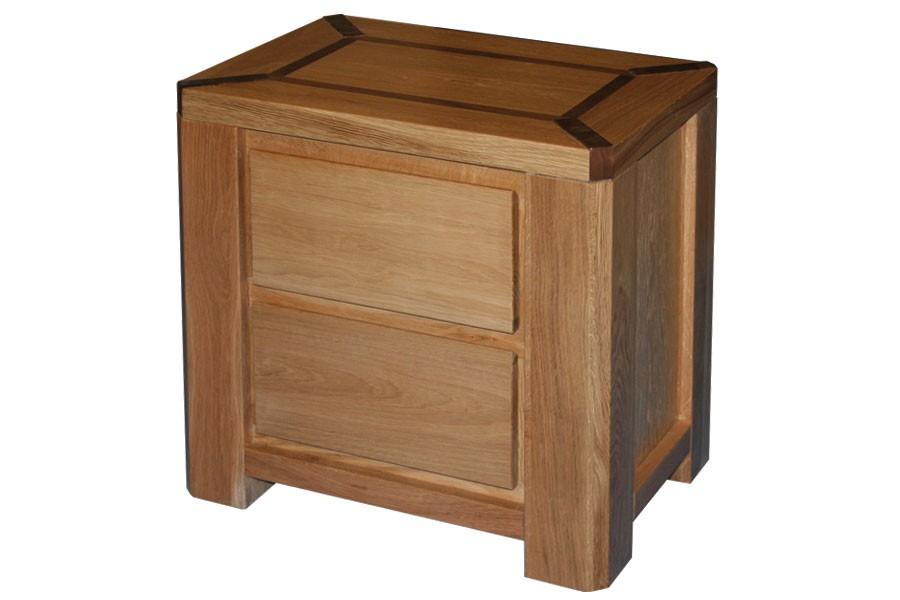 Bradop Nočný stolík JAMAICA, dub L010