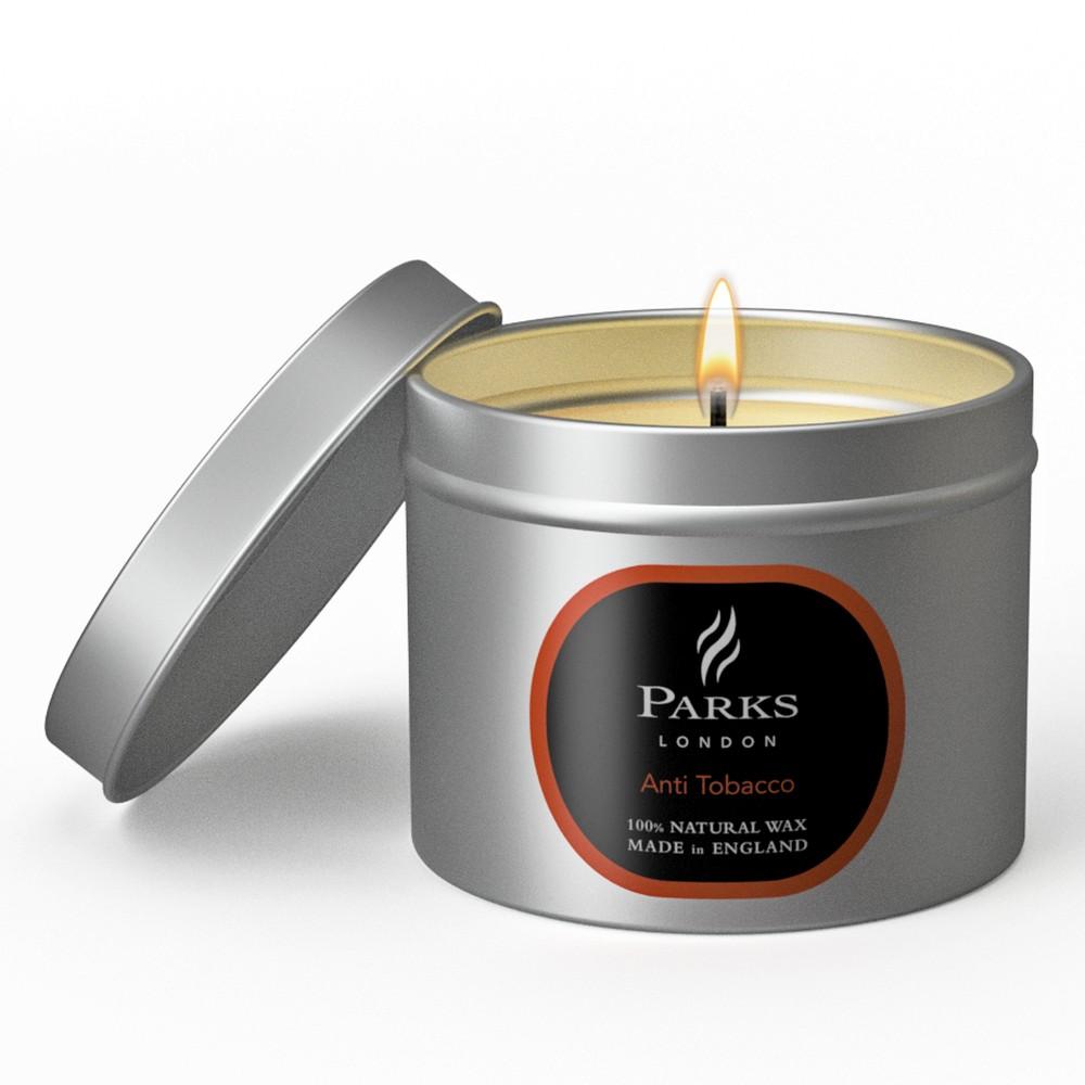 Sviečka s vôňou pomarančov proti tabakovému pachu Parks Candles London, 25 hodín horenia