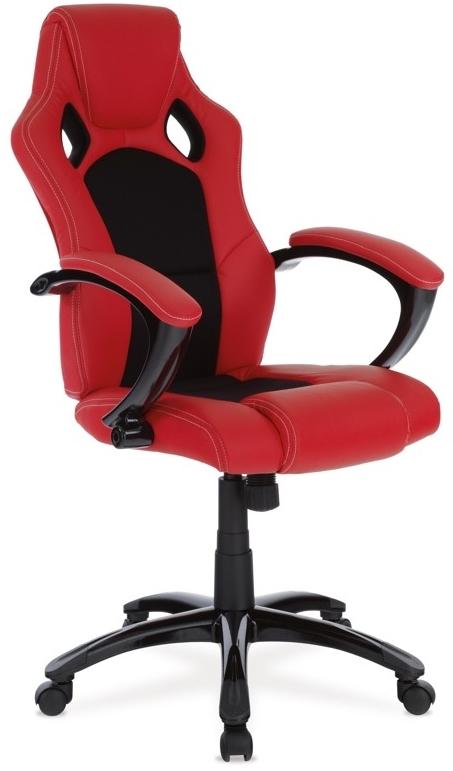 Kancelárske kreslo KA-N157 RED
