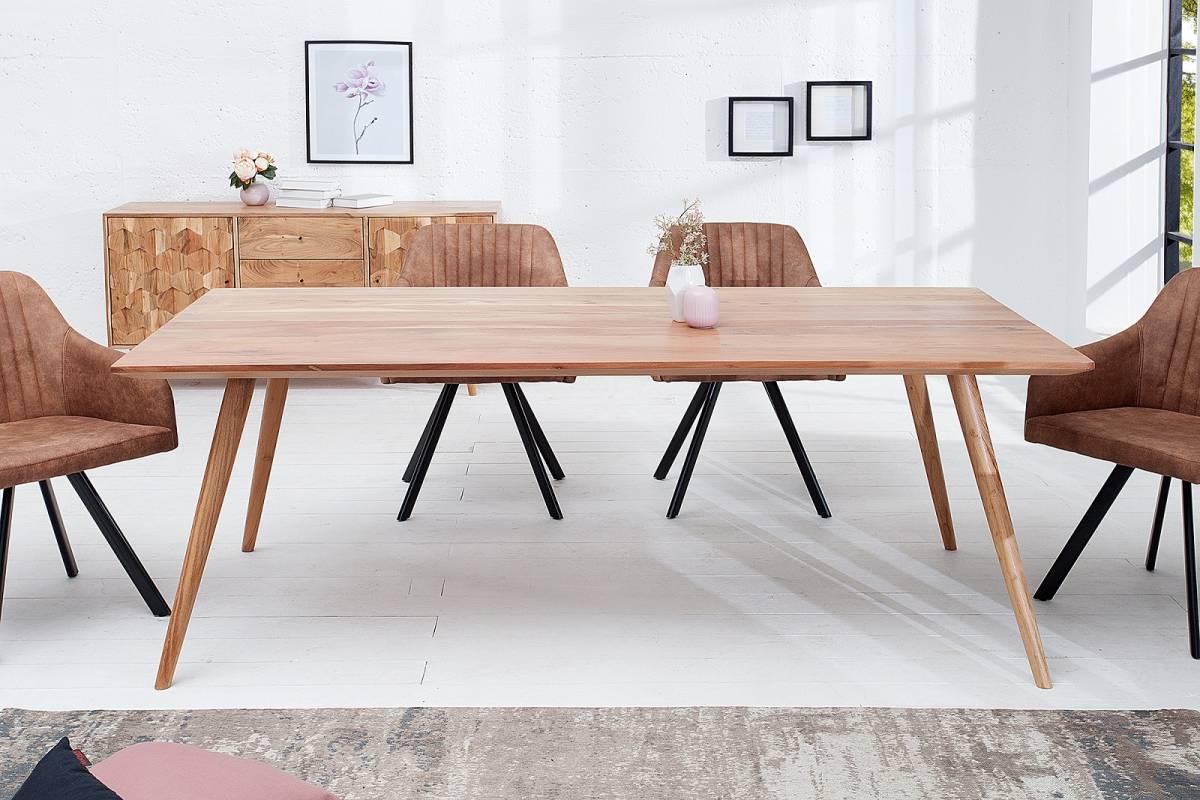Bighome - Jedálenský stôl MYSTIKA 160 cm - prírodná