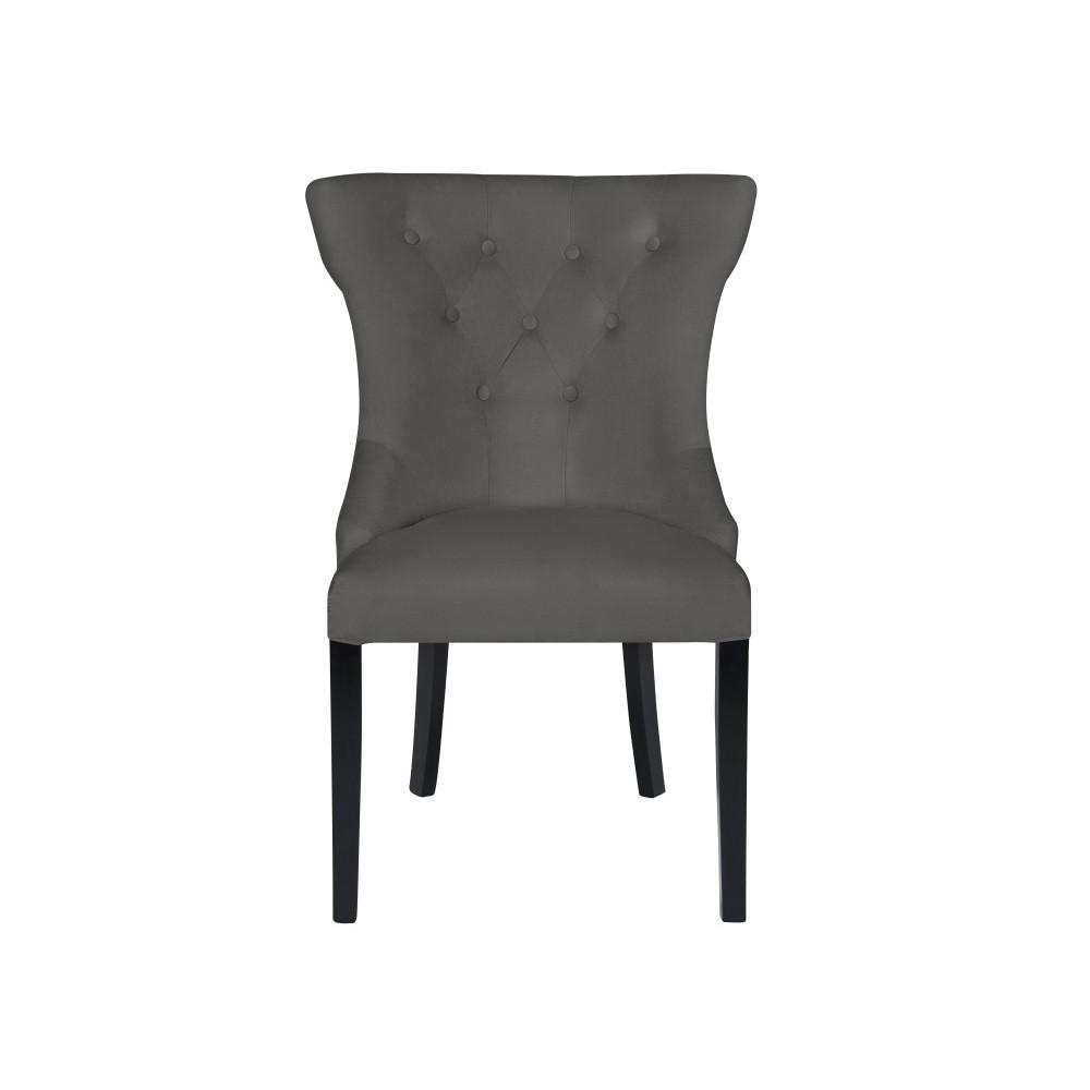 Sivá stolička Micadoni Home Mero