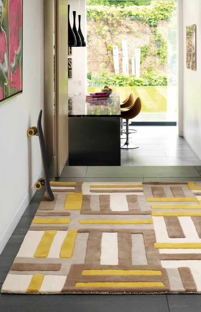 Matrix koberec MAX17 Code - žltá