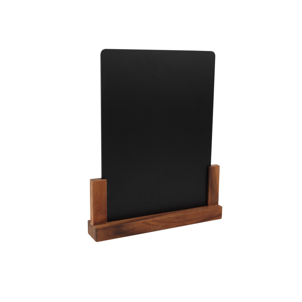 Tabuľka so stojanom z akáciového dreva T&G Woodware Rustic, výška 32 cm