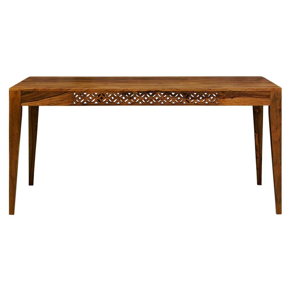 Jedálenský stôl z masívneho palisandrového dreva Massive Home Rosie, 90 x 200 cm