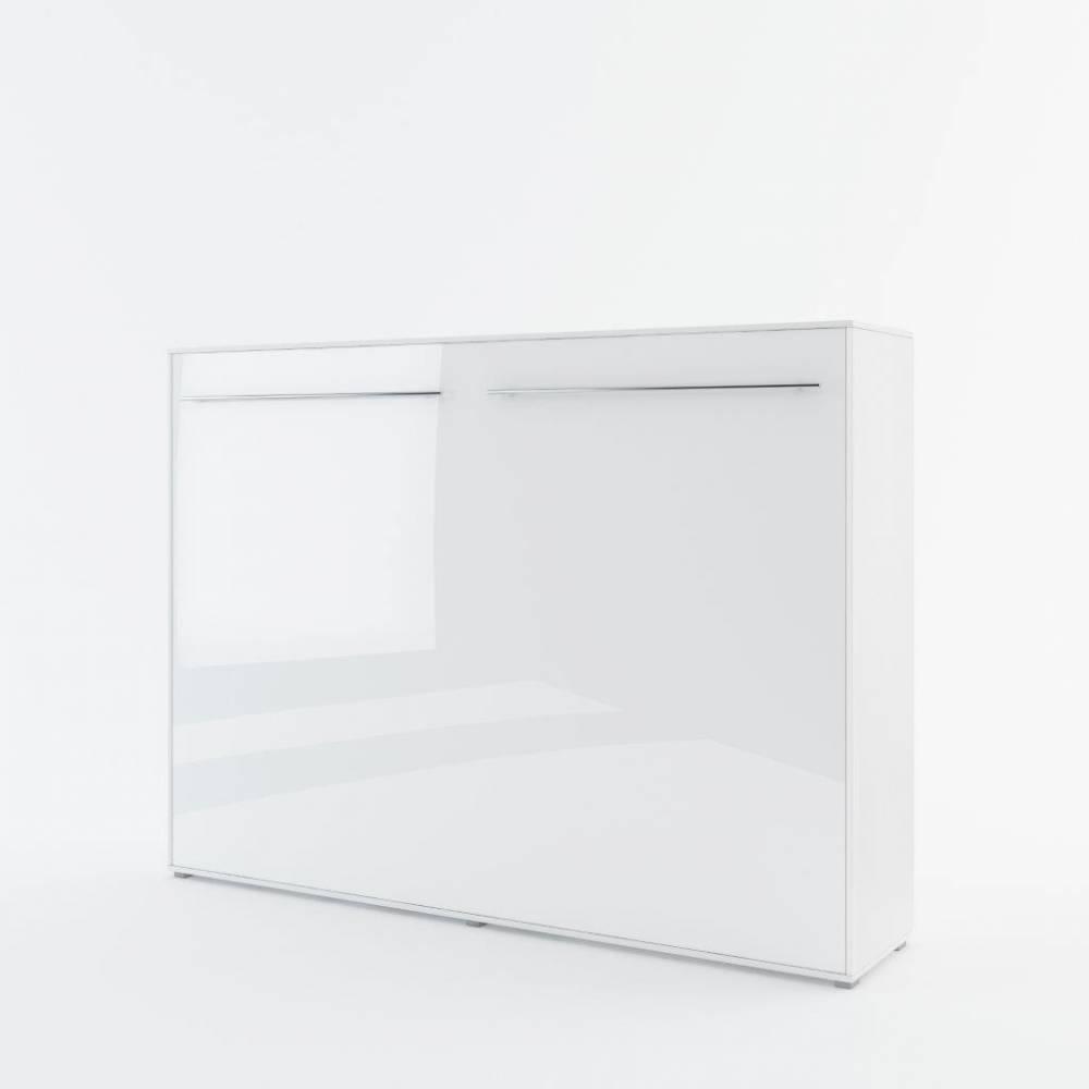 Sklápacia posteľ KOMFORT PRO CP-04, biely lesk