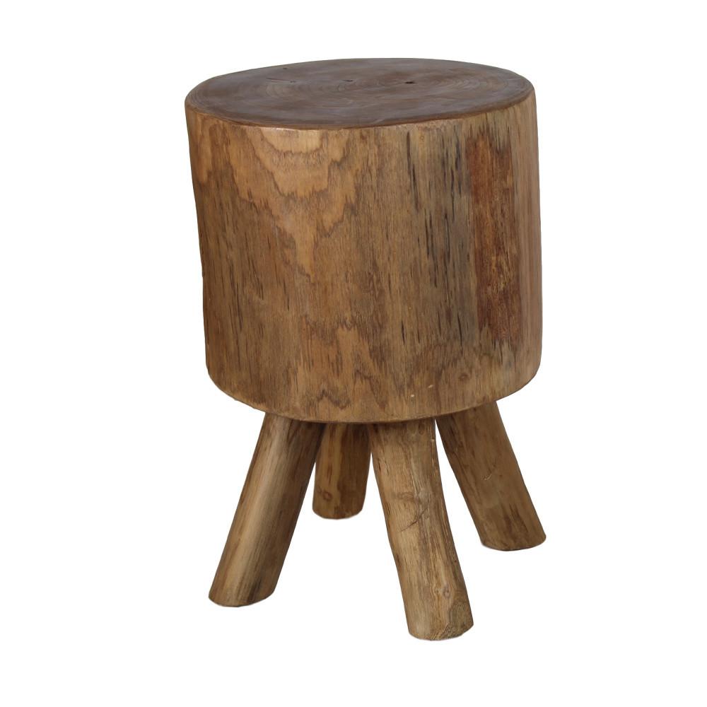 Stolička z teakového dreva HSM Collection Solid