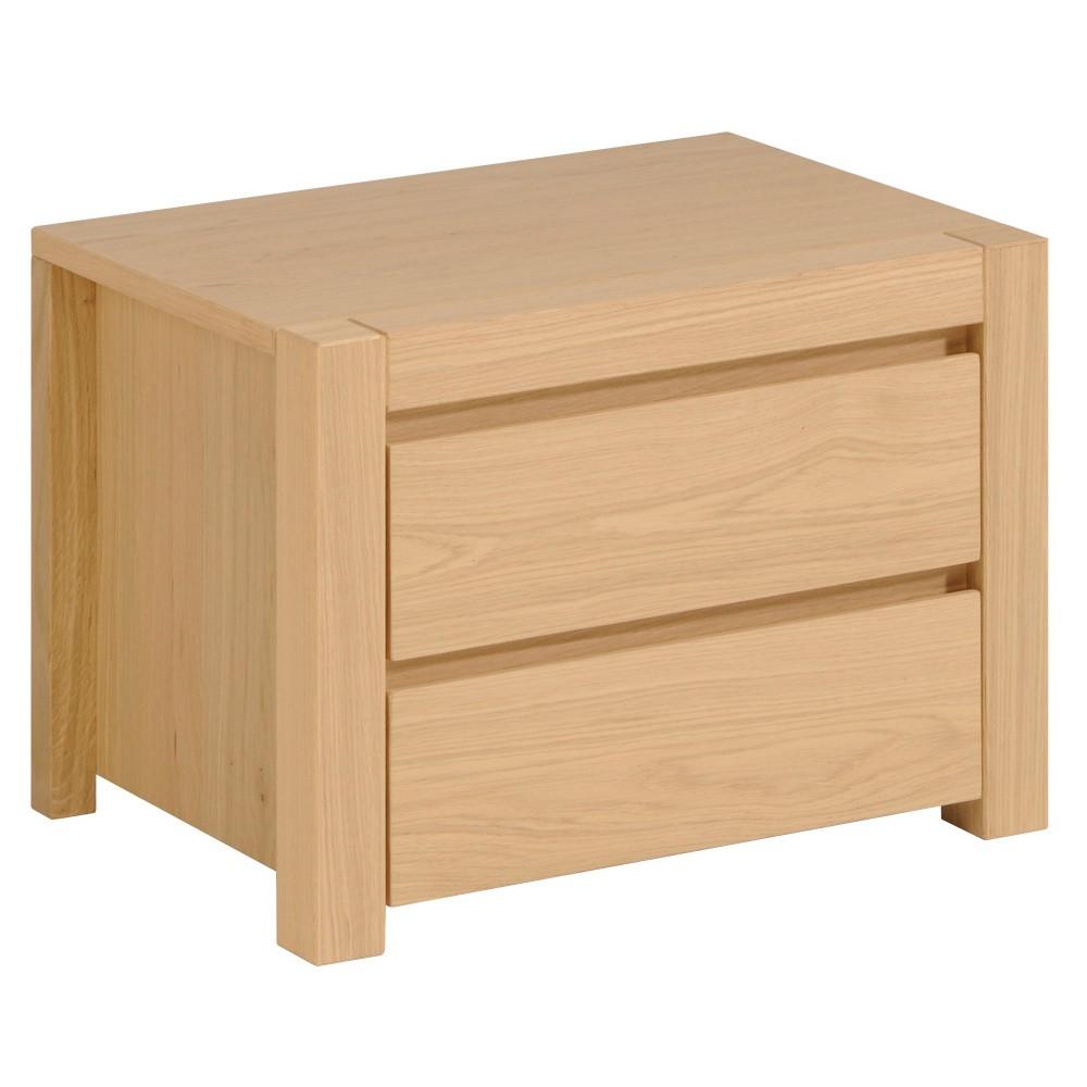 Nočný stolík s 2 zásuvkami Artemob West