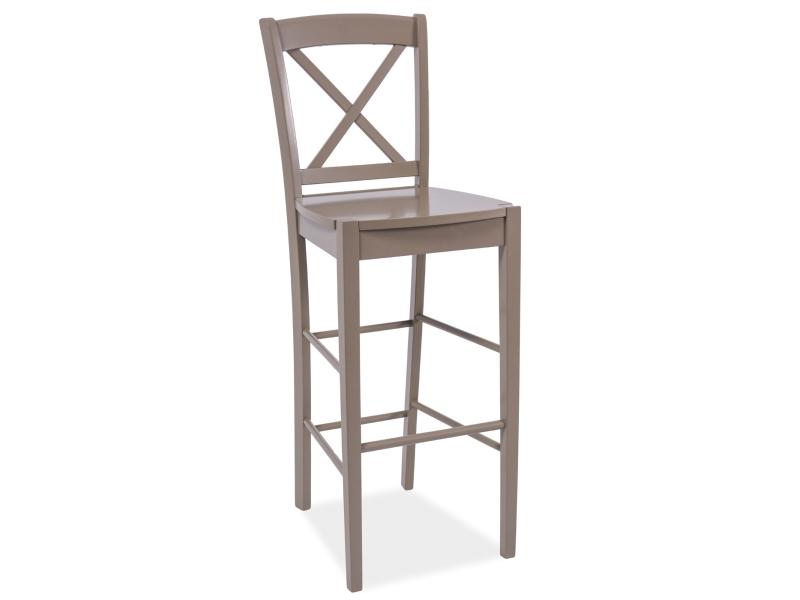 KD-964 barová stolička, truflová